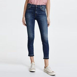 CITIZENS High rise Skinny Rocket Crops Jeans 24